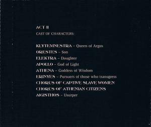 Virgin Steele: The House Of Atreus Act II (2-CD) - Bild 9