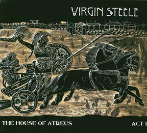 Virgin Steele: House Of Atreus Act I, The - Cover