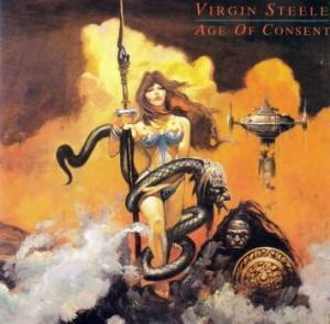 Virgin Steele: Age Of Consent - Cover
