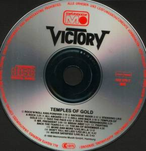 Victory: Temples Of Gold (CD) - Bild 4