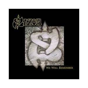 Saxon: We Will Remember - Cover
