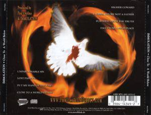 Immolation: Close To A World Below (CD) - Bild 4