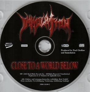 Immolation: Close To A World Below (CD) - Bild 5