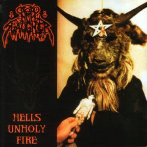 Nunslaughter: Hells Unholy Fire - Cover