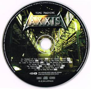 Axxis: Time Machine (CD) - Bild 3