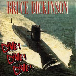 Bruce Dickinson: Dive! Dive! Dive! - Cover