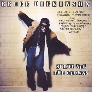 Bruce Dickinson: Shoot All The Clowns - Cover