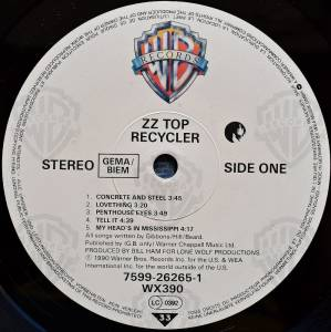 ZZ Top: Recycler (LP) - Bild 2