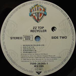 ZZ Top: Recycler (LP) - Bild 6