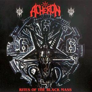 Acheron: Rites Of The Black Mass - Cover