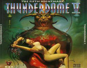 Cover - Square Dimensione: Thunderdome V - The Fifth Nightmare !
