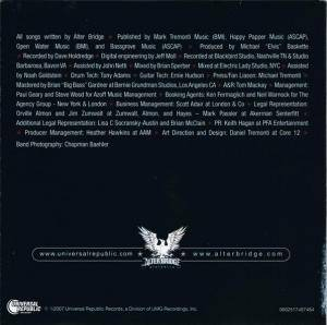 Alter Bridge: Blackbird (CD) - Bild 4