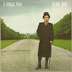 Elton John: Single Man, A - Cover