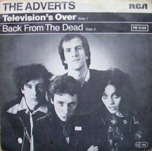 Cover - Adverts, The: Television's Over