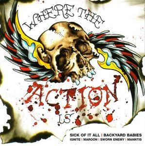 Where The Action Is - Cover