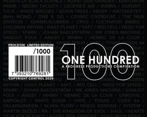 Cover - Necro Facility: 100 - One Hundred (A Progress Productions Compilation)