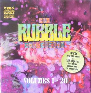 Cover - Golden Earrings: Rubble Collection Volumes 1-20, The