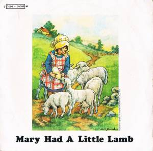 Cover - Wings: Mary Had A Little Lamb