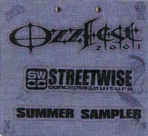 Cover - Pete.: Ozzfest 2001 Streetwise Summer Sampler