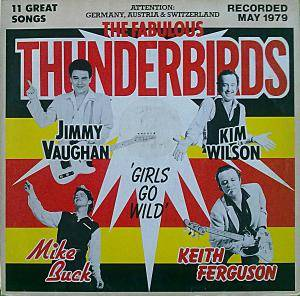 The Fabulous Thunderbirds: Girls Go Wild - Cover