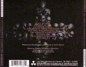 Exodus: The Atrocity Exhibition - Exhibit A (CD) - Bild 4