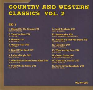 Country And Western Classics Vol. 2 (2-CD) - Bild 2