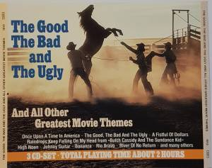 The Good The Bad And The Ugly And All Other Greatest Movie Themes (3-CD) - Bild 1