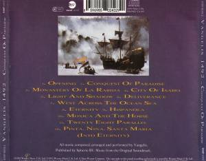 Vangelis: 1492 - Conquest Of Paradise (CD) - Bild 3