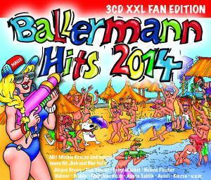 Ballermann Hits 2014 - Cover