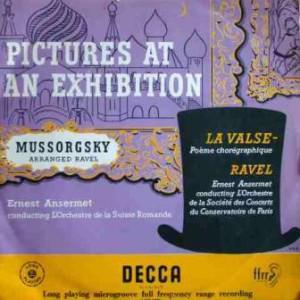 Maurice Ravel: Pictures At An Exhibition / La Valse - Cover
