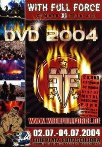 With Full Force Summer XI Open Air DVD 2004 - Cover