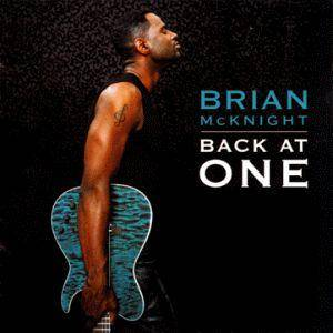 Cover - Brian McKnight: Back At One