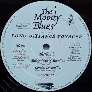 The Moody Blues: Long Distance Voyager (LP) - Bild 5