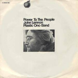 John Lennon & Plastic Ono Band: Power To The People - Cover