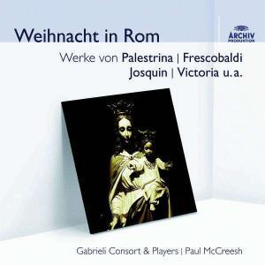 Gabrieli Consort & Players: Weihnacht In Rom - Cover