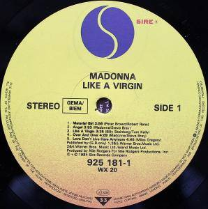 Madonna: Like A Virgin (LP) - Bild 5