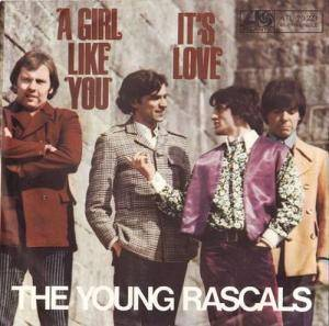 Cover - Young Rascals, The: Girl Like You, A
