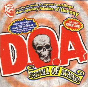D.O.A.: Festival Of Atheists - Cover