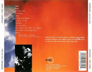 Morphine: Cure For Pain (CD) - Bild 2