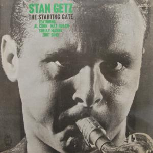 Stan Getz: Starting Gate, The - Cover