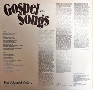 The Voices Of Victory: Gospel Songs (LP) - Bild 2