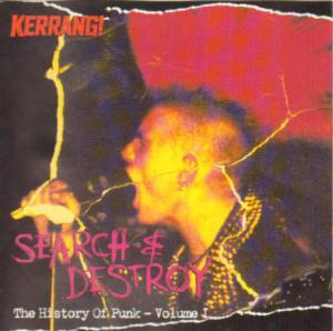 Kerrang! 0805 - Search & Destroy: The History Of Punk - Volume 1 - Cover