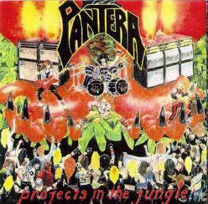 Cover - Pantera: Projects In The Jungle