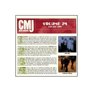 Cover - that dog.: CMJ - New Music Volume 024