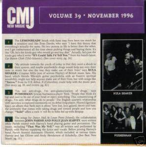 Cover - Heads, The: CMJ - New Music Volume 039
