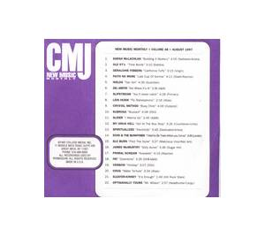 Cover - Lida Husik: CMJ - New Music Volume 048