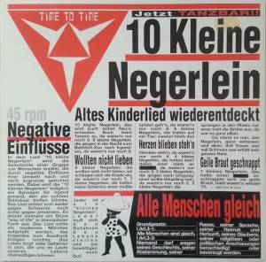 Time To Time: 10 Kleine Negerlein - Cover