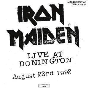 Iron Maiden: Live At Donington - Cover