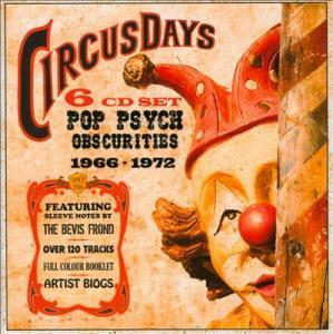 Circus Days - Pop Psych Obscurities 1966-1972 - Cover