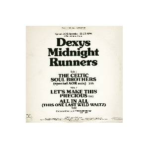 Dexys Midnight Runners: Celtic Soul Brothers, The - Cover